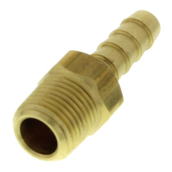 "3/16"" Hose Barb x 1/8"" Male Brass Pipe Adapter Product Image"