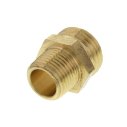 "3/4"" Male Hose x 1/2"" MIP (1/2"" Sweat) Brass Garden Hose Adapter (Lead Free) Product Image"