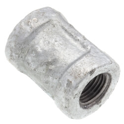 "1/8"" Galvanized Malleable Banded Coupling Product Image"
