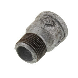 "3/4"" Galvanized Fitting Extension Piece Product Image"