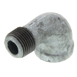 "3/8"" Galvanized Malleable 90° Street Elbow Product Image"