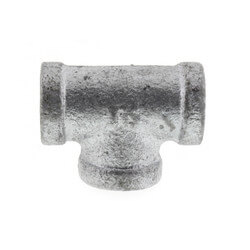 """1/4"""" Galvanized Malleable Tee Product Image"""
