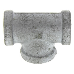"3/8"" Galvanized Malleable Tee Product Image"