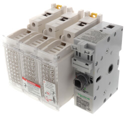 TeSys GS, Switch Disconnecter Fuse, 3P, 750V, Type J Fuse Product Image