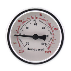"1/2"" NPT Connection Thermometer<br>w/ 2-1/2"" Dial Size Product Image"