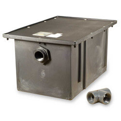 50# Polyethylene<br>Grease Trap, 25 gpm Product Image