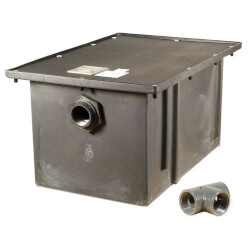 70# Polyethylene<br>Grease Trap, 35 gpm Product Image