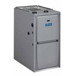 GUH 4 Ton 90,000 BTU 1 Stage Air Handler, 92% Gas Furnace, PSC Motor Product Image