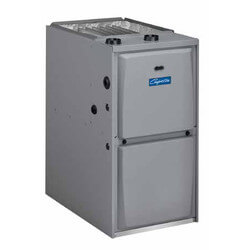 GUH 3 Ton 45,000 BTU 1 Stage Air Handler, 95% Gas Furnace, Multi-Speed PSC Product Image