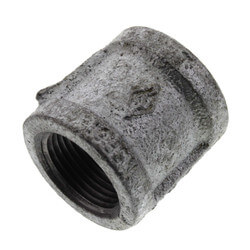 "3/4"" Galvanized Malleable Banded Coupling Product Image"