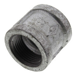 "1"" Galvanized Malleable Banded Coupling Product Image"