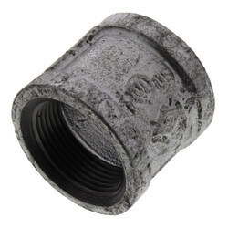 "1-1/4"" Galvanized Malleable Banded Coupling Product Image"