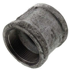 "1-1/2"" Galvanized Malleable Banded Coupling Product Image"