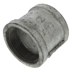 "2"" Galvanized Malleable Banded Coupling Product Image"