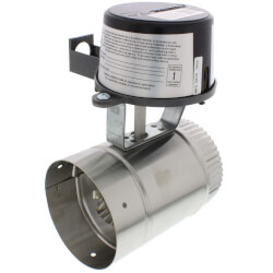 "4"" Automatic GVD<br>Vent Damper, without harness Product Image"