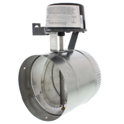 "6"" Automatic GVD<br>Vent Damper, without harness Product Image"