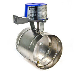 """6"""" Automatic GVD<br>Vent Damper, without harness Product Image"""