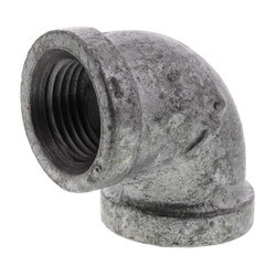 """1/2"""" Galvanized Malleable 90° Elbow Product Image"""