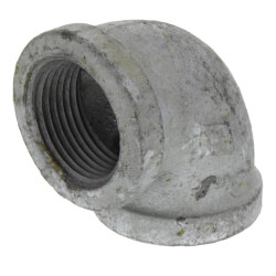"""1"""" Galvanized Malleable 90° Elbow Product Image"""