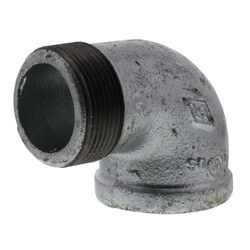 """1-1/2"""" Galvanized Malleable 90° Street Elbow Product Image"""