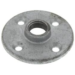"1/2"" Galvanized Floor Flange w/ Holes Product Image"