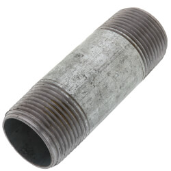 "1"" x 3-1/2"" Galv Nipple Product Image"