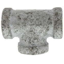 "1/4"" Galvanized Malleable Tee Product Image"