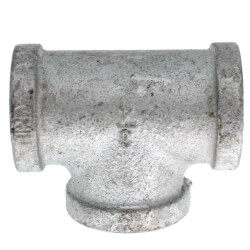 "3/4"" Galvanized Malleable Tee Product Image"