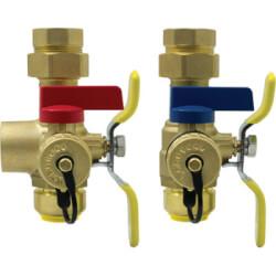 "3/4"" Push-Fit Isolator E-X-P E2 Tankless Water Heater Service Valve Kit (Lead Free) Product Image"