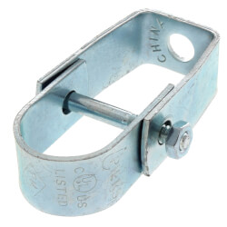 """3/4"""" Electro-Galvanized Clevis Hanger Product Image"""