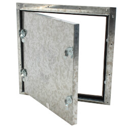 "10"" x 10"" Self Stick Duct Access Door, Hinged Product Image"