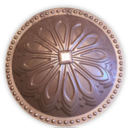 """5-1/2"""" Hermosa Dome Cleanout Cover (Newport Copper) Product Image"""