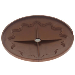 """6"""" Hermosa Flat Cleanout Cover (Newport Copper) Product Image"""