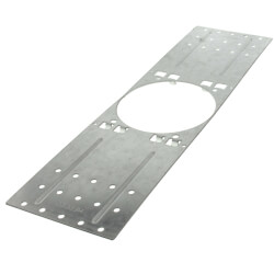 "1""-2"" Corrugated Metal Deck Plate for #2 Firestop Sleeve & #3 Hollow Sleeve Product Image"