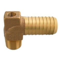 """3/4"""" MPT x 1"""" Insert - 1/4"""" Tapped Male Hydrant Elbow (Lead Free) Product Image"""
