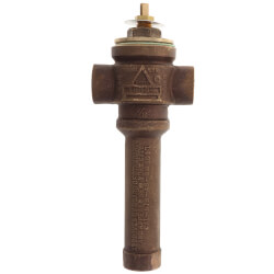 "3/4"" Bronze Thermostatic Tempering Valve<br>(Low Temp) Product Image"