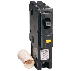 Homeline Single Pole Miniature GFI Circuit Breaker (120V, 15A) Product Image