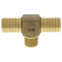 """1"""" x 1"""" x 3/4"""" Insert x Insert x MPT Hydrant Tees (Lead Free) Product Image"""