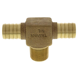 """3/4"""" Insert x Insert x MPT Hydrant Tees (Lead Free) Product Image"""