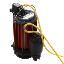 1/2 HP Model HT453 High Temp Auto Submersible Sump Pump (10' Cord) Product Image