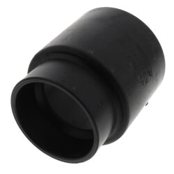 "4"" Hub ABS DWV Soil Pipe Adapter Product Image"