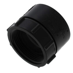 "1-1/2"" H x FIPT ABS Swivel Adapter (5803SW) Product Image"