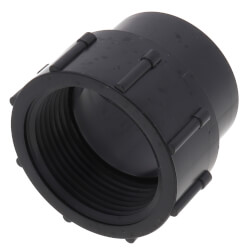 "1-1/4"" Spigot x FIPT ABS DWV Female Adapter Product Image"