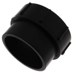 "1-1/2"" Spigot x FIPT ABS DWV Female Adapter Product Image"