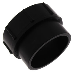 """2"""" Spigot x FIPT ABS DWV Female Adapter Product Image"""