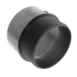 "4"" H x MIPT ABS Male Adapter (5804) Product Image"