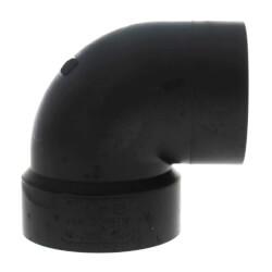 "2"" Spigot x Hub ABS DWV 90° Street Vent Elbow Product Image"