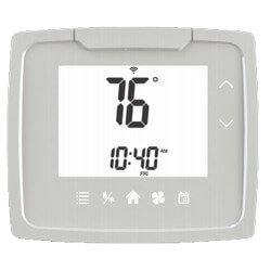 7 Day Programmable Touch Control Dual Power Thermostat w/ Humidity Control (2H/2C) Product Image