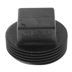"1-1/4"" MIPT ABS DWV Plug Product Image"