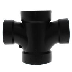 """2"""" x 2"""" x 1-1/2"""" x 1-1/2""""<br>H x H x H ABS Double Sanitary Tee (5835R) Product Image"""
